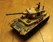 Vintage Rc Tank Em-315 175 Three Men Us Tank Rare Missing Remote
