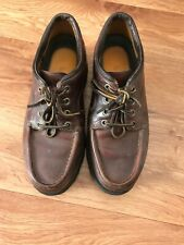 Men Brown Leather , TIMBERLAND ,shoes Size W7 Uk 5