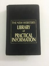 The New Webster's Library of Practical Information (1990, Hardcover)