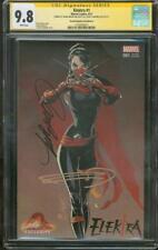 Elektra 1 CGC 9.8 2X SS Frank Miller Campbell Mask Variant Daredevil TV Show