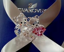 ***Swarovski Crystal Figurine 2014 KRIS BEAR 'IN LOVE' (RETIRED)