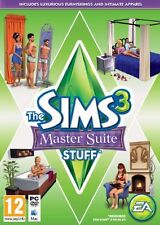 The Sims 3: Master Suite Stuff [PC-DVD MAC Computer, Region Free, Decor] NEW
