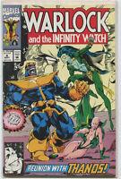 Warlock And The Infinity Watch #8 Thanos Gamora Near Mint Marvel Comics CBX6
