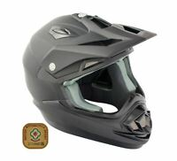 GSB XP-14B Adult MX Motocross Off Road Helmet Matt Black