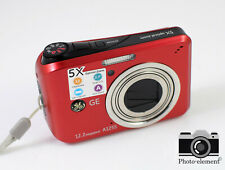 GE A1255 12.2MP Compact Digital Camera Red | Mint Condition