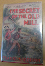 The Secret of the Old Mill  Hardy Boys Franklin Dixon in jacket