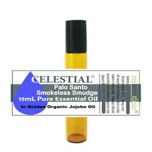 PALO SANTO SMOKELESS SMUDGE | ENERGY AURA CLEANSING PROTECTION 10ml