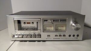 Pioneer CT-F500 Stereo Cassette Tape Deck 120V 60Hz 13W Dolby System
