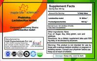 Probiotic blend of Lactobacillus reuteri 20 Billion CFU/GRAM High Quality 25