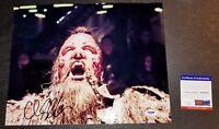 ! Chris Sullivan Autograph Taserface Signed 11X14 GOTG 2 Picture Photo PSA JSA !