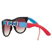 Independent Trucks DONS SQUARE Skateboard Sunglasses BLACK/BLUE/RED