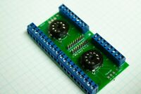 Double 9 Pin tube socket  PCB KIT - Great for Experiments & Prototyping