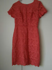 Coral Lace Next Dress Size 6 Wedding New Wedding Evening Party Woman