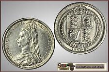 GB. - Victoria Sixpence 1887 .....  EF-gEF