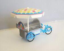 PLAYMOBIL (V316) LOISIRS - Tricycle Bleu Complet du Vendeur de Glaces 3244