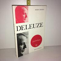 Michel Cressole DELEUZE Psychothèque 1973 éditions universitaires - ZZ-5997