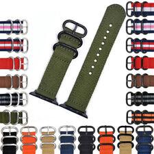 Band For Apple Watch Series 5 4/3/2/1 Sport Nylon Bracelet 38/40/42/44 MM Strap