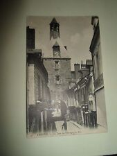 Vintage Postcard AMBOISE LA TOUR DE L'HORLOGE LL 41 Franked+Stamped 1908