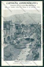 Ragusa Modica Alluvione 1902 cartolina QQ0621