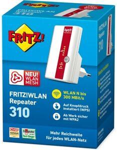 AVM WLAN Repeater 310 FRITZ!WLAN 310 FritzBox Speedport WLAN Verstärker Extender