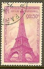 """FRANCE TIMBRE STAMP N° 429 """" CINQUANTENAIRE DE LA TOUR EIFFEL """" OBLITERE TB"""