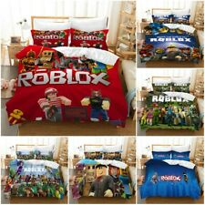 ROBLOX Kids Quilt Cover Bedding Set 3PCS Duvet Cover Pillowcase Comforter Cover