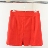 NWT Ann Taylor Loft Orange Cute Casual Skirt Size 0 Womens