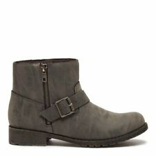Rocket Dog Brittany Buckle Ankle Boot - Grey - UK 8