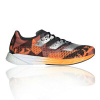 adidas Mens adizero Pro Running Shoes Trainers Sneakers Black Orange Sports