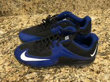 Nike Air MVP Pro Metal 2 Baseball Cleats Size 14 Black / Blue White 684685 014