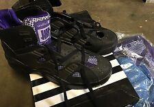 Adidas EQT B-Ball UNDFTD Black Silver Sz 9 NIB Blue Purple Inserts 077986