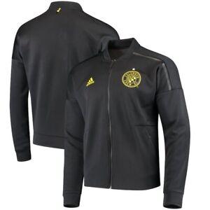 Adidas MLS Columbus Crew SC Jacket Black/Yellow CF0024