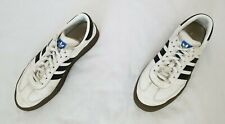 Womens Size 7 White Black Gum Adidas Samba Rose Casual Leather Sneakers AQ1134