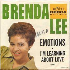 "BRENDA LEE ""EMOTIONS"" 60'S SP DECCA 31195"