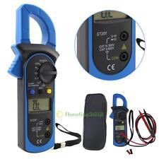 ST-201 Auto Ranging Digital Clamp Meter Multimeter DMM AC DC Volt Ohm Voltmeter
