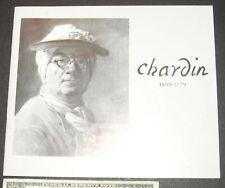 Jean Simeon Chardin 1699-1779 exhibition, cleveland art