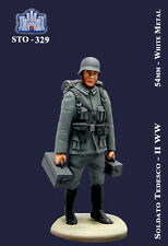 q LA FORTEZZA 54 mm - Portamunizioni della fanteria tedesca, 1939-1945 (STO-329)