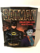 Vintage 1990 DC Comics Batman Joker 12 Action Figure Collectors Case - No Handle