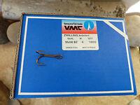 VMC DOPPEL HAKEN ZWILLINGSHAKEN 9508 BZ GR. 4 - 10 STÜCK NEU ZUM SONDERPREIS