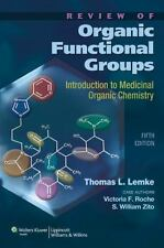Review of Organic Functional Groups : Introduction to Medicinal Organic...