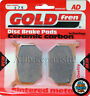Suzuki GS 250 Front Sintered Brake Pads 1981 - Goldfren - GS250 GS-250