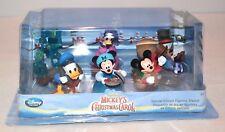 Disney Store Mickey's Christmas Carol Special Edition Figurine Playset NIB