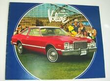 Old Car Sales Brochure For The Plymouth Volare - 1978.