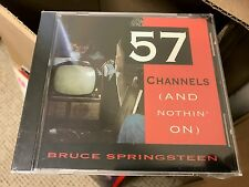 BRUCE SPRINGSTEEN 57 CHANNELS AND NOTHIN' ON CD SINGLE COL CSK 4599 DJ PROMO