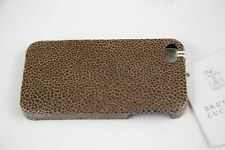 NWT. Brunello Cucinelli iPhone 4/4s Leather Case $325