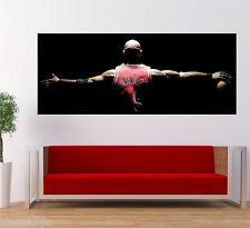 Michael Jordan Poster Print Large Wall Art Deco Banner