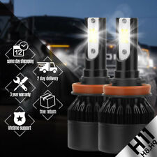 2 x H11 H8 H9 388W 38800LM LED COB Headlight Car Bulbs iSincer Kit 6000K TNE