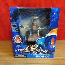 "LOST IN SPACE ""BATTLE RAVAGED ROBOT"" Movie Toy 1997 Trendmasters NEW Still Talks"