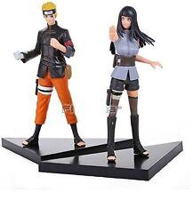 "Naruto Uzumaki & Naruto Hyuuga Hinata PVC 6"" Action Figures Toy 2 PCS / Set"