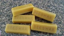 Pure Beeswax ~ 4th Generation Beekeeper ~ 5 - 1 Ounce Bars Fresh from the Hive